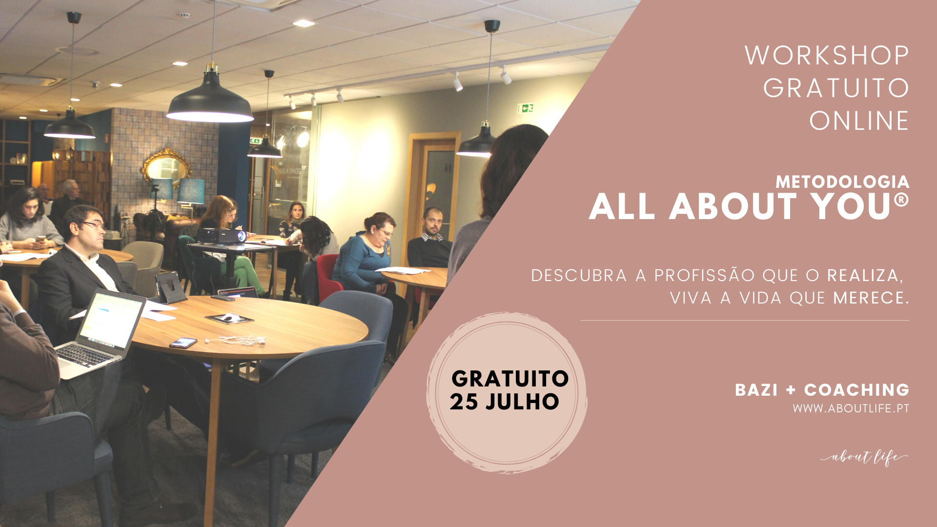 Workshop Online Gratuito
